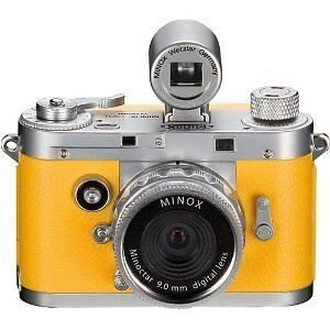 Minox DCC 5.1 Classic Digital Camera  60712 ORANGE  WITH VIEWFINDER  NEW