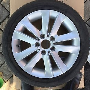 BMW ALLOY RIMS  + WINTER TIRES – EXCELLENT CONDITION (SET OF 4)