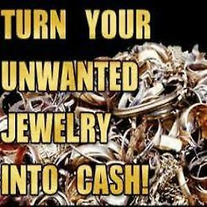WE BUY ALL GOLD FOR CASH , SCRAP