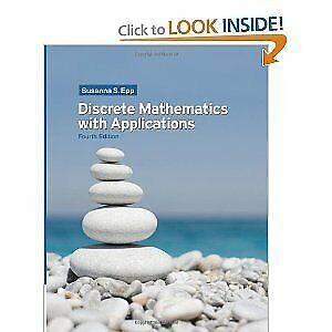 Discrete Mathematics And Its Applications Buy New Used Goods