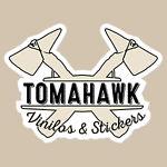 Tomahawk vinilos y stickers