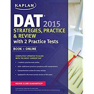 BRAND NEW DAT prep books/ study materials