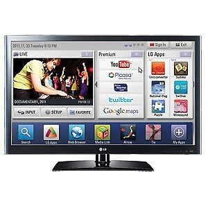 LG 55 1080P smart LED 120Hz HD TV In Excellent New Condition