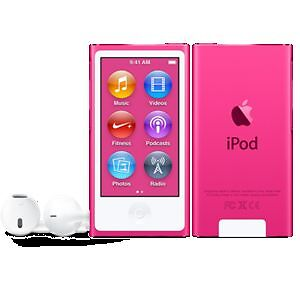 Brand New Sealed in Box ipod 7th gen pink 16 gb