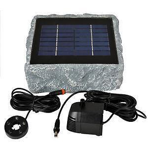 sauerstoffpumpe solar pumpen ebay. Black Bedroom Furniture Sets. Home Design Ideas