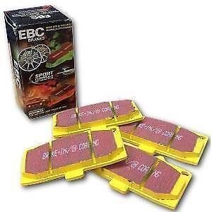 EBC FRONT YELLOWSTUFF BRAKE PADS PORSCHE 911 (993) 3.6 Carrera 4 1994-97 DP4767R