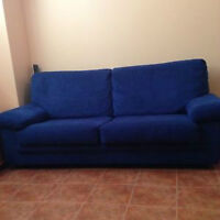 BLUE COUCH FROM FRANCE AMAZING CONDITION      Watch     |     Sh