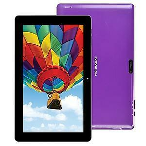 "NUVISION TM106A510L 10.6"" 1.83 QC 16GB ANDR.5.1 TABLET- PUR"