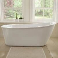 New, never installed Maax Sax free standing tub