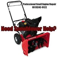 *•*Snowblower Service Special FREE PICKUP!*•*