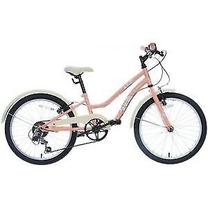 Girls Oceana 20 inch Bike in coral..