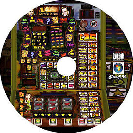FRUIT MACHINE GAME DISK WITH 1200 ODD REAL ARCADE MACHINES AND EMULATOR