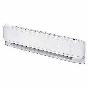 DIMPLEX Proportional Baseboard Heater,240V,2500W, PCM9025W31