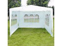 Gazebo marquee tent 3 metres x 3 metres