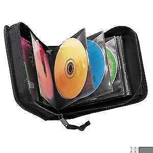 Case Logic 24 CD Wallet and 12 DVD Visor