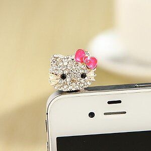 WHOLESALE LOT! HELLO KITTY CELL/TABLET CASE CHARMS and PLUGS West Island Greater Montréal image 1