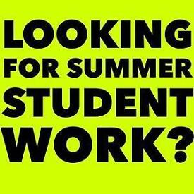 Student Summer Jobs - Immediate Start - Work At Home Online - Part Time - Full Time - Flexible Hours
