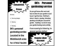 DK's Garderning service