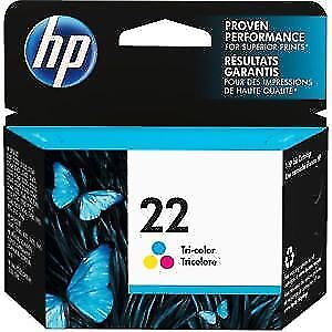HP 22 colour Ink Cartridge (C9352AN) / new - unopened