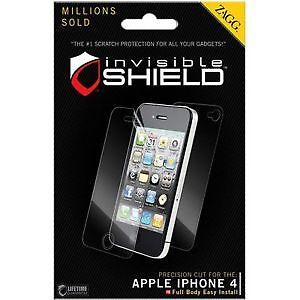 ZAGG iPhone Screen Protector - iPhone 4 / 4S