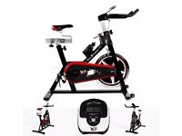 We R Sports Spinning Bike Exercise Bike Indoor Studio Bicycle Aerobic Cycling 120kg User Weight