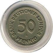 50 Pfennig 1950