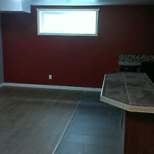 Two bedrooms basement suite available in Harbour landing