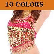 Sequin Belly Dance Top