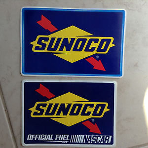 Sunoco Gas Automotive sticker