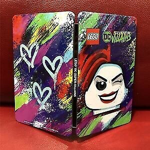 LEGO DC Super Villains Switch Steelbook Edition