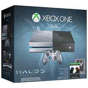 BNIB SEALED XBOX ONE HALO 5 GUARDIANS LIMITED EDITION BUNDLE