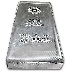 SELLING 100 OZ ROYAL CANADIAN MINT SILVER BAR