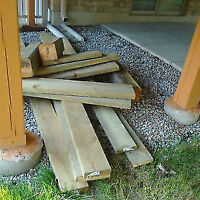 Cedar Lumber Wood Decks Fences and for Small Projects