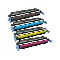 Set of 4 New Cartridges for Color LaserJet 5500 / 5550 Printer