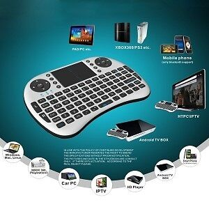 Boxing week !! Mini Wireless Keyboard and Trackpad for Android b