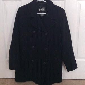 Roots --Wool Coat