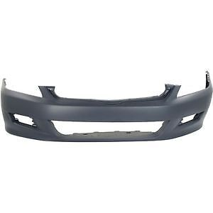 HONDA ACCORD BUMPER FR PRIMED CPE 06-07 CAPA