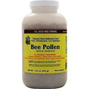Y.S. Eco Bee Farms Bee Pollen Whole Granules  16 oz