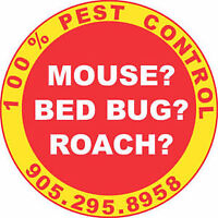 LICENSED, RELIABLE, FAST PEST CONTROL. GET RID OF MICE, RATS