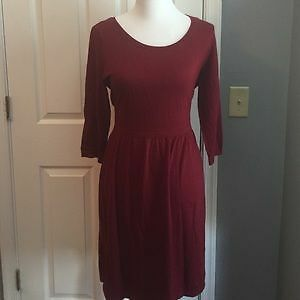 Old Navy women's burgundy dress size XXL NWT