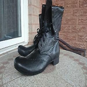 Brand new high end designer boots, genuine leather