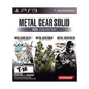 Wanted Looking For MGS HD Collection