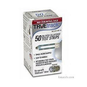 True Track Blood Glucose Test Strips Ebay