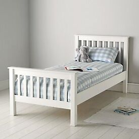 Two White Company single beds for sale