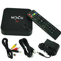 QUAD CORE Android MX3 Tv box with XBMC pre-installed