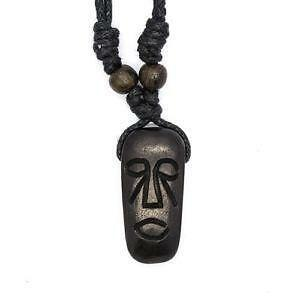 African necklace ebay african wood necklaces mozeypictures Choice Image