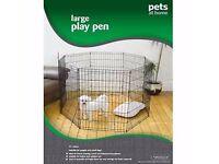 Pets play pen