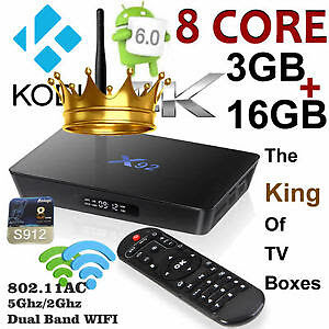 The King of Android Boxes - X92 - 3g/16g - Kodi Krypton 17