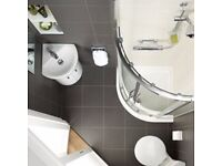 bathroom fitters, new toilet, on suite, changing toilet sink bath, refurbishment, under stair toilet