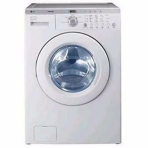 LG WM1814CW 4.7 cu.ft 27'' Front-Load Sense Clean System Washer White